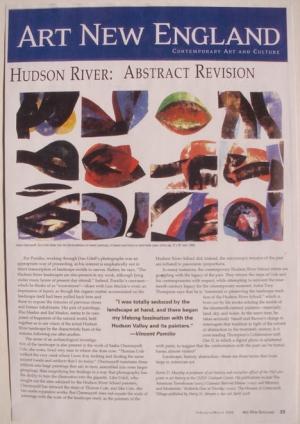 Art New England Magazine, February/March 2008