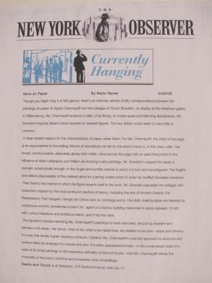 New York Observer, July 2006